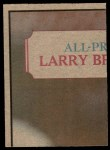 1973 Topps  Checklist   Bears Back Thumbnail