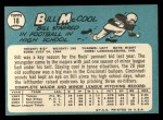 1965 Topps #18  Bill McCool  Back Thumbnail