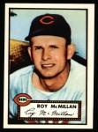 1952 Topps REPRINT #137  Roy McMillan  Front Thumbnail