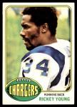 1976 Topps #263  Rickey Young   Front Thumbnail