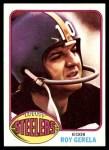 1976 Topps #195  Roy Gerela  Front Thumbnail