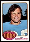 1976 Topps #197  Bob Kowalkowski  Front Thumbnail