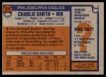 1976 Topps #239  Charlie Smith  Back Thumbnail
