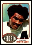 1976 Topps #292  Marvin Cobb   Front Thumbnail