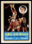1973 Topps #210  Dan Issel  Front Thumbnail
