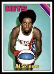 1975 Topps #272  Al Skinner  Front Thumbnail