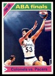1975 Topps #310   ABA Finals Front Thumbnail