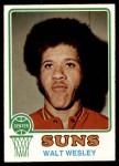 1973 Topps #118  Walt Wesley  Front Thumbnail