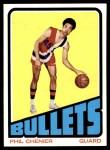 1972 Topps #102  Phil Chenier   Front Thumbnail