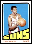 1972 Topps #72  Clem Haskins   Front Thumbnail