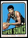 1972 Topps #98  Garfield Heard   Front Thumbnail