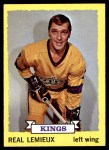 1973 Topps #122  Real Lemieux   Front Thumbnail