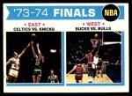 1974 Topps #163   NBA Finals Front Thumbnail
