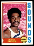 1974 Topps #240  Roger Brown  Front Thumbnail