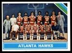 1975 Topps #203   Atlanta Hawks Front Thumbnail