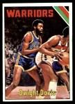 1975 Topps #11  Dwight Davis  Front Thumbnail