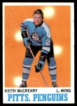 1970 Topps #93  Keith McCreary  Front Thumbnail