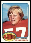 1976 Topps #182  Frank Nunley  Front Thumbnail
