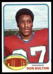 1976 Topps #284  Ron Bolton  Front Thumbnail