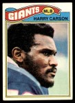 1977 Topps #146  Harry Carson  Front Thumbnail
