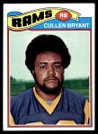 1977 Topps #154  Cullen Bryant  Front Thumbnail