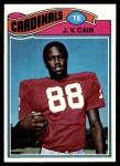 1977 Topps #504  J.V. Cain  Front Thumbnail