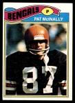 1977 Topps #152  Pat McInally  Front Thumbnail