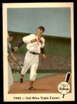 1959 Fleer #19   -  Ted Williams  Wins the Triple Crown Front Thumbnail
