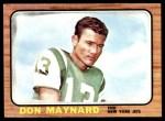 1966 Topps #95  Don Maynard  Front Thumbnail