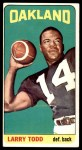 1965 Topps #151  Larry Todd  Front Thumbnail