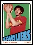 1972 Topps #64  John Warren   Front Thumbnail