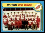 1979 Topps #249   Red Wings Team Checklist Front Thumbnail