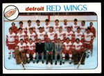 1978 Topps #197   Red Wings Team Checklist Front Thumbnail