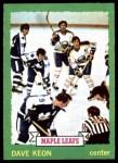 1973 Topps #85  Dave Keon   Front Thumbnail