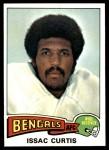 1975 Topps #25  Isaac Curtis  Front Thumbnail