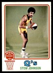 1973 Topps #213  Stew Johnson  Front Thumbnail