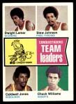 1974 Topps #228   -  Caldwell Jones / Chuck Williams / Dwight Lamar Conquistadors Team Leaders Front Thumbnail