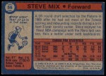 1974 Topps #56  Steve Mix  Back Thumbnail