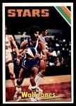 1975 Topps #319  Wally Jones  Front Thumbnail