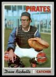 1970 Topps #626  Dave Ricketts  Front Thumbnail