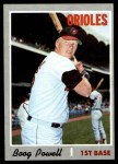 1970 Topps #410  Boog Powell  Front Thumbnail