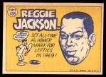 1970 Topps #459   -  Reggie Jackson All-Star Back Thumbnail