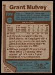 1977 Topps #101  Grant Mulvey  Back Thumbnail