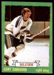 1973 Topps #184  Gary Sabourin   Front Thumbnail