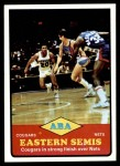 1973 Topps #205   ABA East Semi-Finals Front Thumbnail