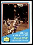 1972 Topps #166   -  Bob Love NBA All-Star - 2nd Team Front Thumbnail
