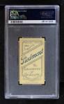 1909 T206  Bill Bernhard  Back Thumbnail