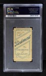 1909 T206  Gordon Hickman  Back Thumbnail