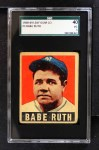 1949 Leaf #3  Babe Ruth  Front Thumbnail