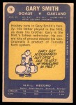 1969 Topps #78  Gary Smith  Back Thumbnail